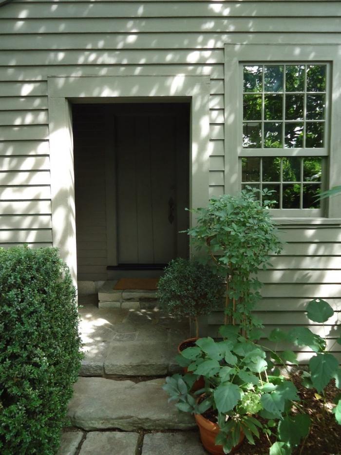 Michael Leva Litchfield County Connecticut Garden Doorway
