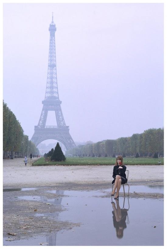 Françoise Hardy Photo Jean-Marie Périer tour-eiffel