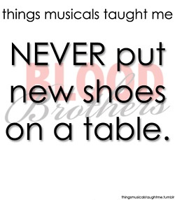 Things Musicals Taught Me - Blood Brothers