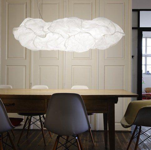 Prachtige Belux Cloud XL plafondlampen. Een hanglamp die XL toevoegt aan de ruimte. Verlichting zoals je het niet vaak ziet.