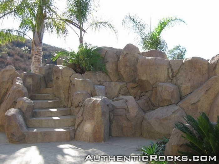 17 best images about pool landscaping on pinterest rock for Garden rock pool