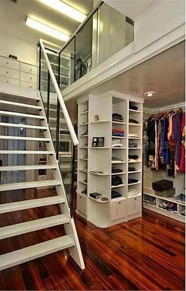 403 best images about extravagant closets on pinterest for Walk in closet square footage