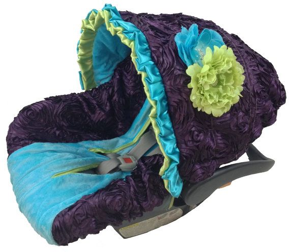 Peacock Infant Car Seat Cover Baby Car Seat by BabyCarSeatCovers, $129.95