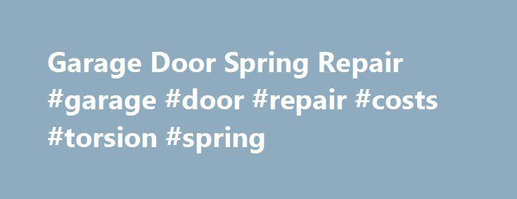 Best 25 Torsion Spring Ideas On Pinterest Garage Door