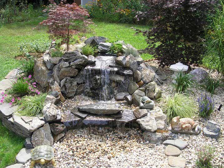 stone decoration garden