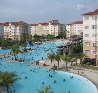 Port Dickson Hotel Primaland Water Theme Park Air Conditioned Unit the only…