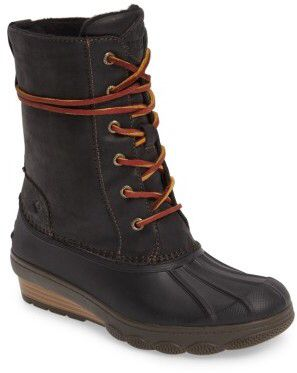 Women's Sperry Saltwater Wedge Reeve Waterproof Boot