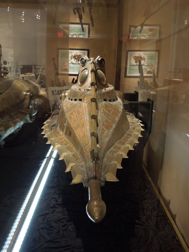 Amongst all the Treasures of the Walt Disney Archives at The Reagan Library on July 17, 2012 was this wonderful filming model of 'Captain Nemo's' infamous 'Nautilus' submarine from Disney's 1954 movie adaptation of Jules Verne's literary classic 20,000 Leagues Under the Sea.