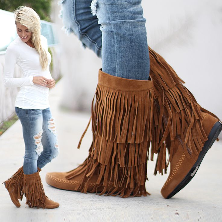 79 best images about Minnetonka Moccasin Boots on Pinterest ...