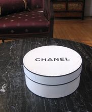 Chanel Hat Box, Great For Display  Vintage -  Ruby Lane . com