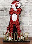 Auburn University Mascot Welcome Sign