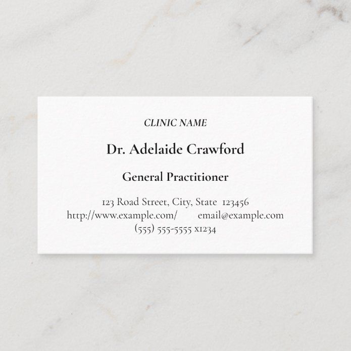 Humble Medical Specialist Business Card Zazzle Com In 2021 Minimalist Business Cards Professional Business Cards Business Cards