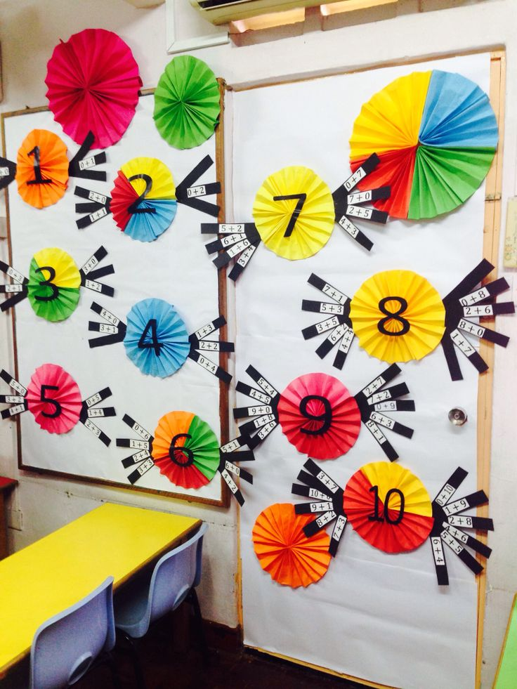 Number bonds, a sweet treat !  Our classroom display, learning number bonds here in kindergarten.