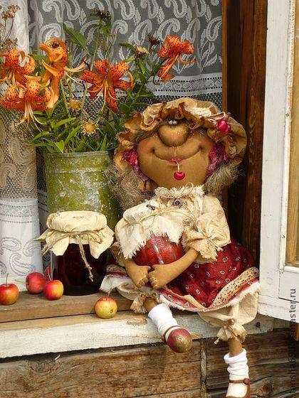 Вишневывае варенье - примитивная кукла,примитивы,ароматизированная кукла
