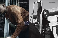 'The Man With The Child In His Eyes' by Sharif Hamza for 10 Men Autumn 2014 1