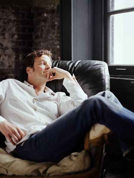 Colin Firth - Marie Claire, UK