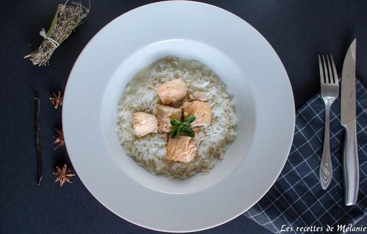Blanquette de saumon à la vanille // Les recettes de Mélanie