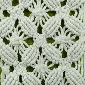Like this pattern. Free macrame school. Tutorials on different patterns and knots