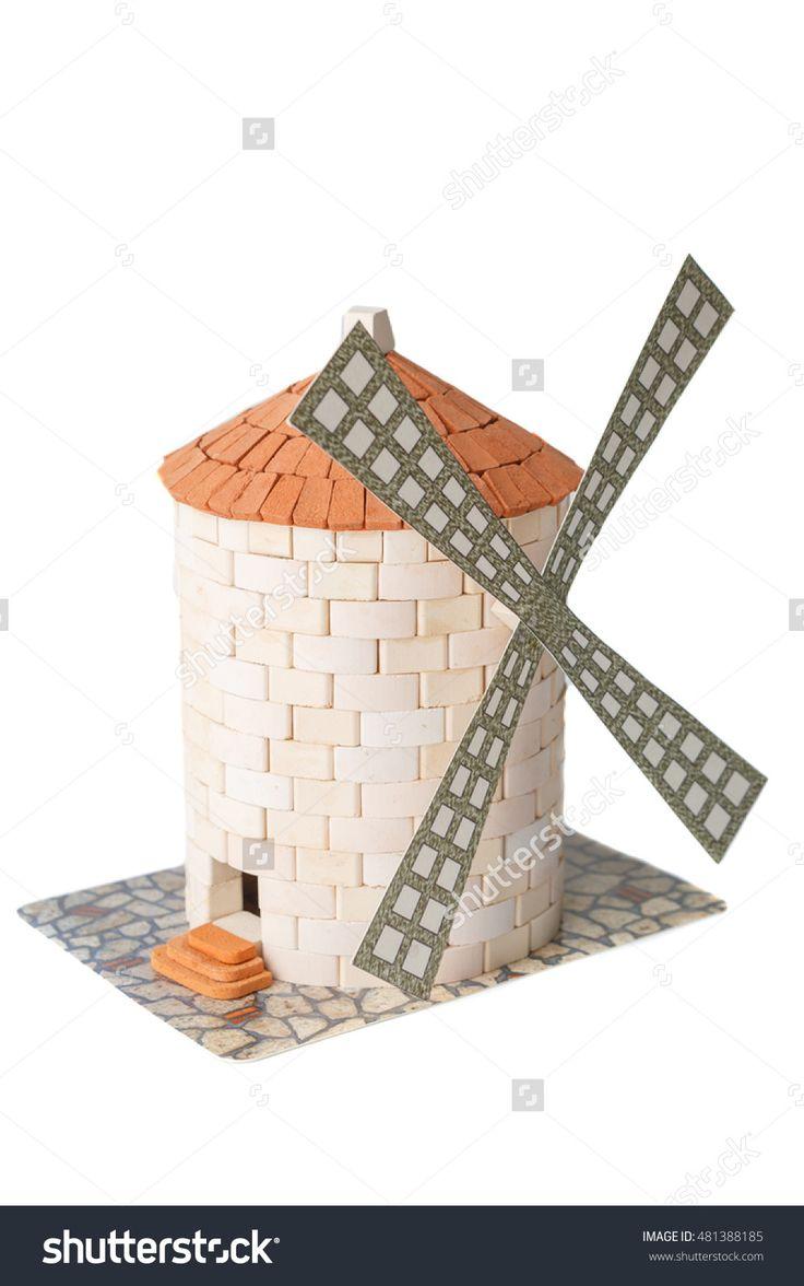 22 best teifoc brick mortar sets images on pinterest for Mud brick kit homes