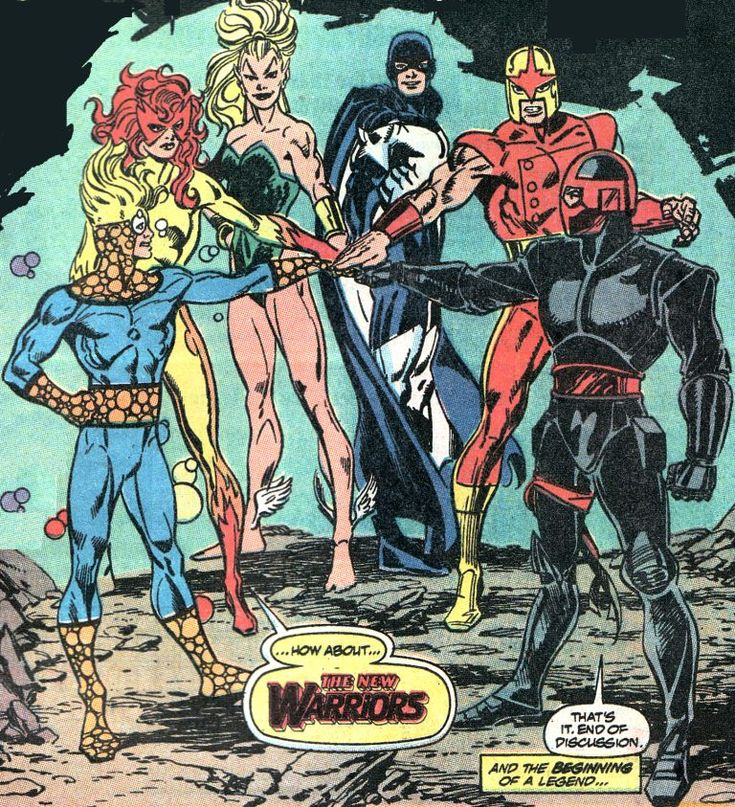 The New Warriors by Mark Bagley