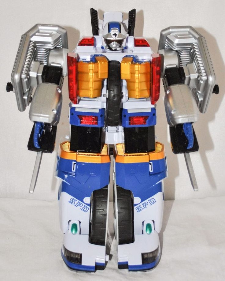 POWER RANGERS SPD - DX Omega Megazord by Bandai from 2005