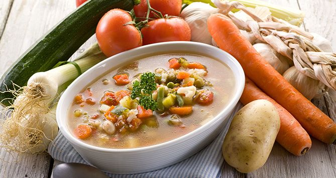 Interesting Vegetable Soup - not interested in this for the weight-loss, but I think the broth/stock that this makes could be a great base for another soup.