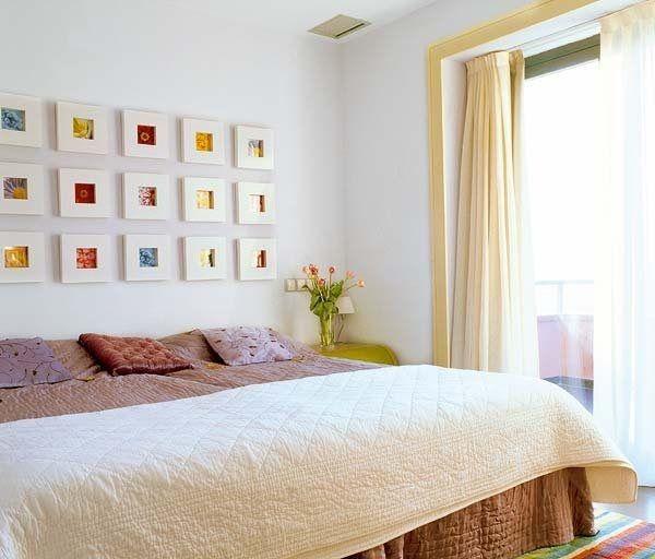 Cabeceros de cama con cuadros 6 ideas para casita - Ideas de cabeceros de cama ...