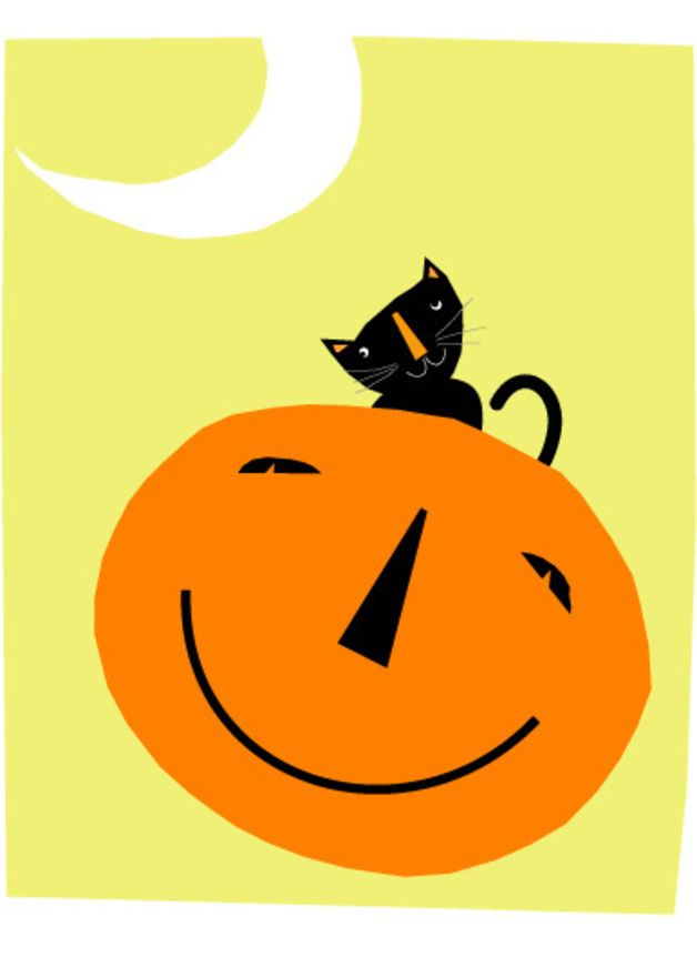 halloween in dawanda Other – black cat halloween card collection – a unique product by gladdog on DaWanda