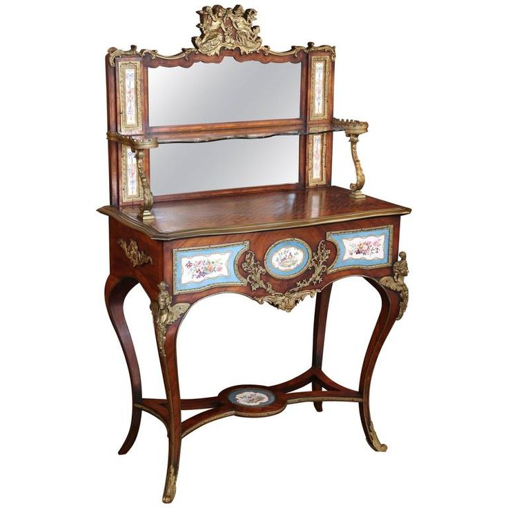 Antique French Louis XV Vanity Table with Gilt Bronze Mounts Porcelain  Cameos. 17 Best ideas about Modern Vanity Table on Pinterest   Modern