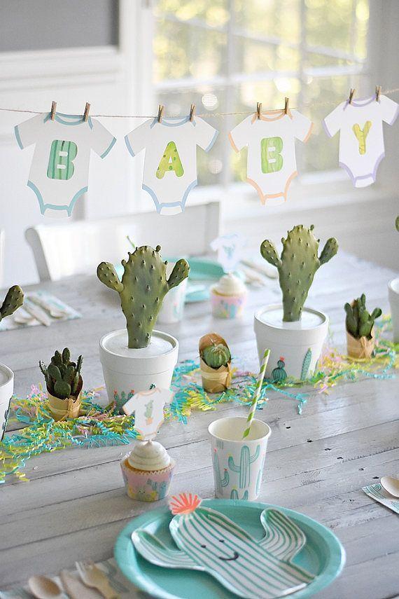 Cactus Cutie Banner  Cactus Party Southwest Party
