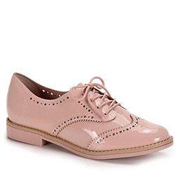 b27a04bdd Sapato Oxford Conforto Feminino Beira Rio - Rosa   Shoes...OH MY GOSH  shoes! in 2019   Sapatos, Sapatos oxford femininos, Sapatos femininos