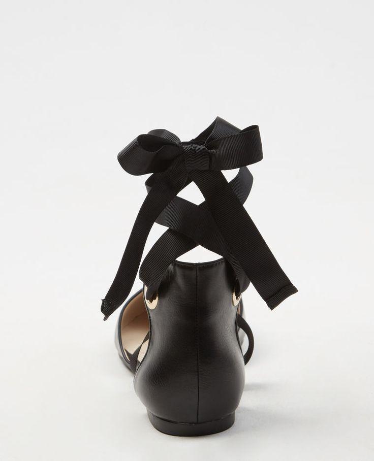 Ballerine nastro nero