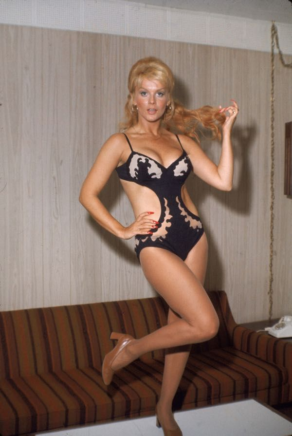 Ann-Margret in Black Monokini is listed (or ranked) 2 on the list The 20 Hottest Ann-Margret Photos