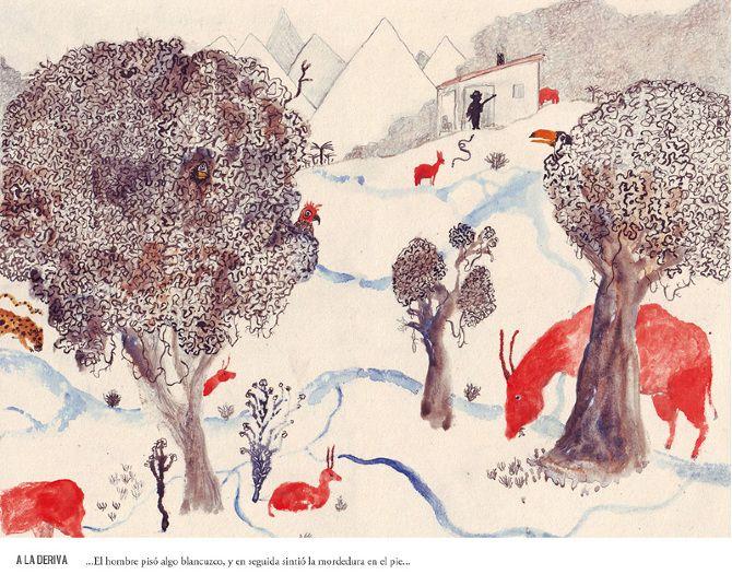 Horacio Quiroga ilustrado (2012/13) - Manuel Marsol