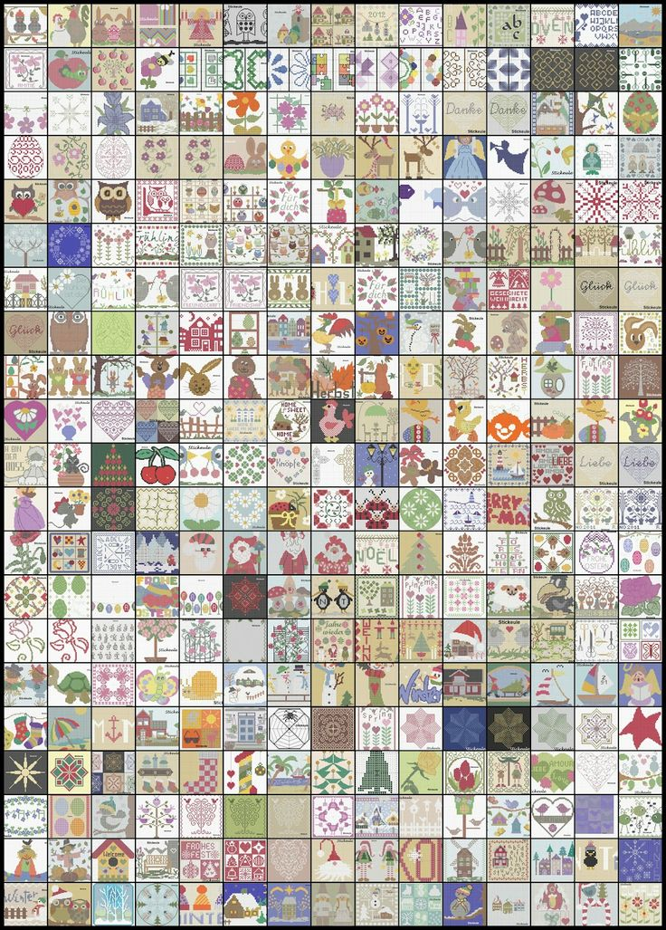 """Stickeule: Fast 400 Freebies.....This lady's patterns are really nice.  She is very generous and her blog translates into English (via Google) very nicely.  Take advantage of the """"Stickule"""" patterns.  They are worth it."""