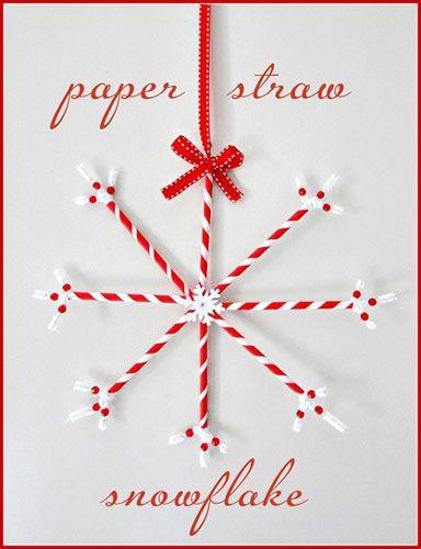 drinking straw snowflakes  http://blog.hgtv.com/design/2012/12/03/designer-macgyver-5-holiday-straw-crafts-to-drink-up/?nl=HGI_120512_bloglink2#