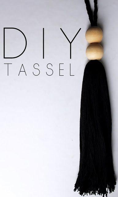 D I Y Tassel Tutorial