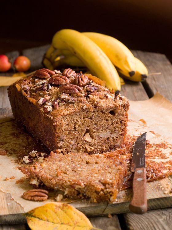 Cake au noix miel et banane