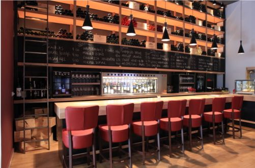 by the glass - wine bar