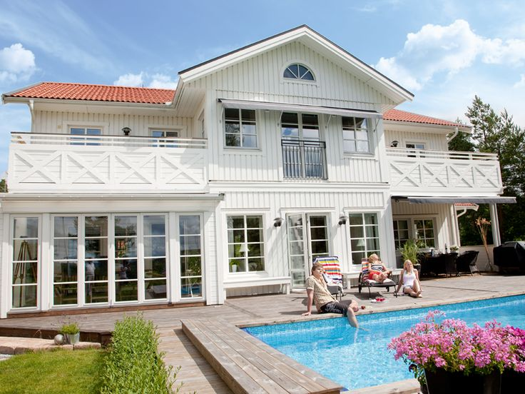 Stjärnvik - Tvåplansvilla från Myresjöhus för stora familjen