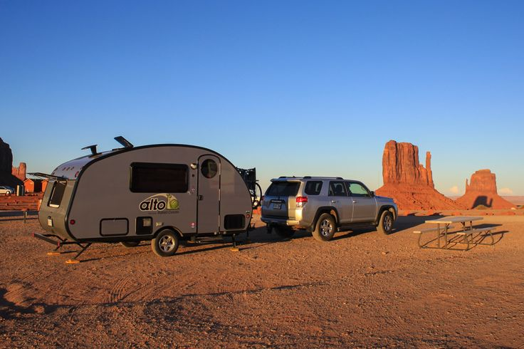 Monument Valley Ntl Monument, Mittens View Campground