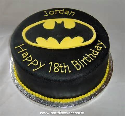 20 Bolos do Batman em Pasta Americana + Festa Aniversário
