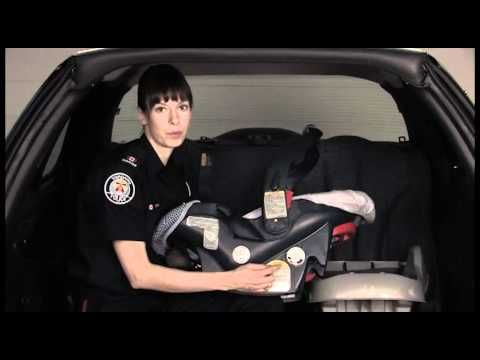 Car Seat Installation Tips - Toronto Police Services and Young Drivers of Canada #childsafety https://www.yd.com