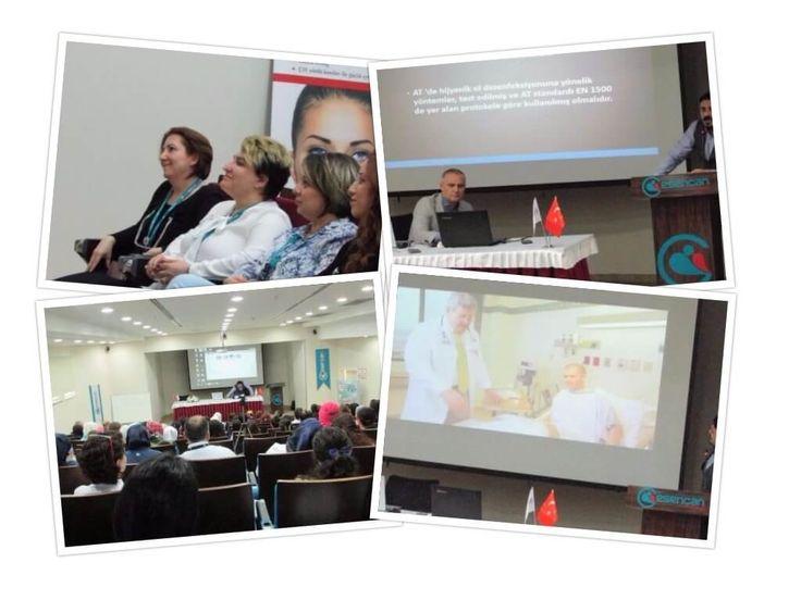 5 Mayıs Dünya El Hijyeni Günü'nde ve Acto iş birliği ile hastane personeline ve diğer katılımcılara eğitim verildi.