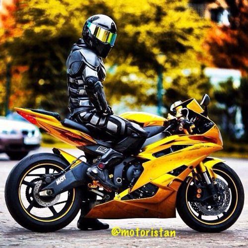 "motoristan:  ""—  Gold Yamaha R6  —  #Motorcycle #Motosiklet #Superbike #Sportbike #Enduro #Motocross #Honda #Yamaha #Kawasaki #BMW #KTM #Ducati  """
