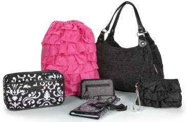 Thirty-One Gifts, The products I sell :)Thirtyone Style, Pink Ruffles, Thirty On Gift, Thirtyone Gift, Ruffles Zippers, Pocket Clutches, Zippers Pouch, Cinch Sac, Ruffles Cinch