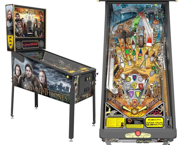 game of thrones pinball news
