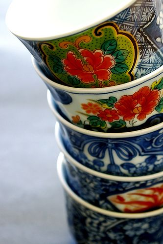 Japanese teacup for soba soup 蕎麦猪口