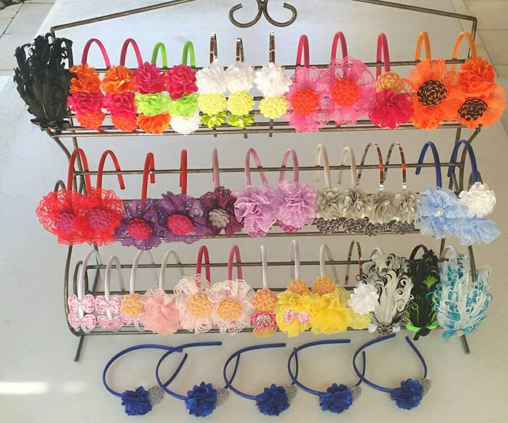 A beautiful donation of hair accessories!
