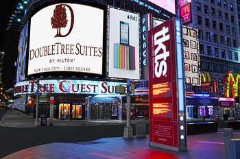 DoubleTree Suites by Hilton New York City - Times Square, New York. This is where I'll stay whenever I go on my dream Christmas vacation in NYC!